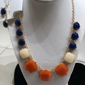 Charming Charlie Necklace & Pierced Earrings NWT